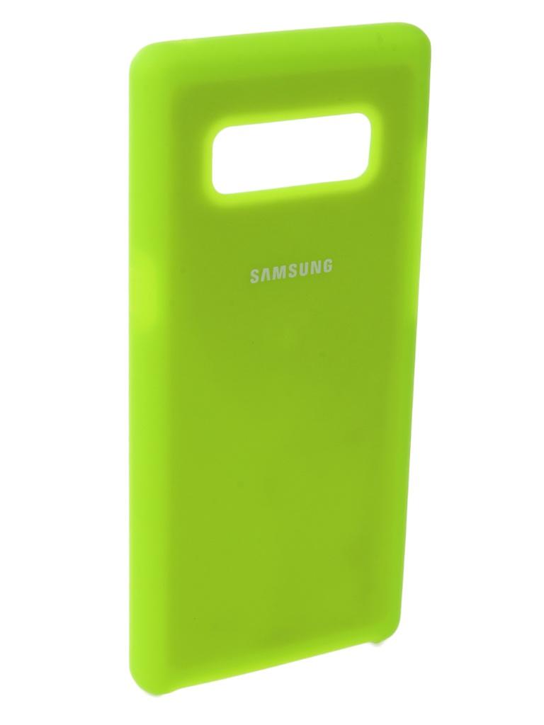 Аксессуар Чехол Innovation для Samsung Galaxy Note 8 Silicone Yellow 10707 цена и фото