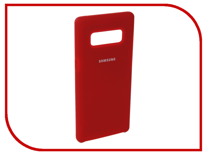 Аксессуар Чехол для Samsung Galaxy Note 8 Innovation Silicone Red 10710 аксессуар чехол для samsung galaxy a5 2017 innovation silicone yellow 10644
