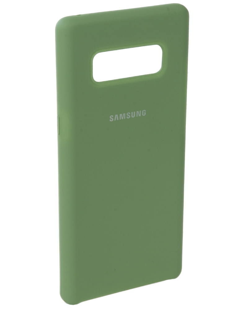 Аксессуар Чехол Innovation для Samsung Galaxy Note 8 Silicone Green 10708 аксессуар чехол samsung galaxy j3 2017 j330f innovation ракушка silicone green 11070