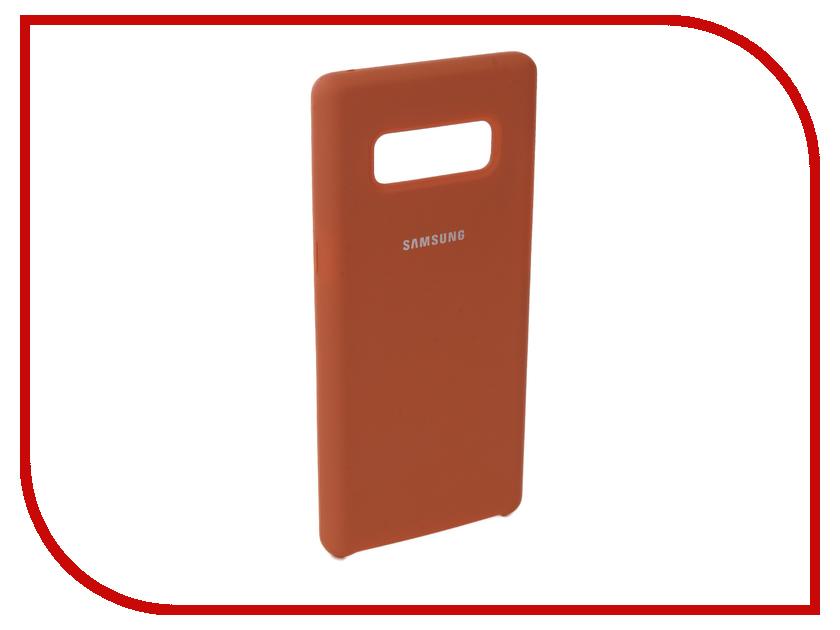Аксессуар Чехол для Samsung Galaxy Note 8 Innovation Silicone Coral 10709