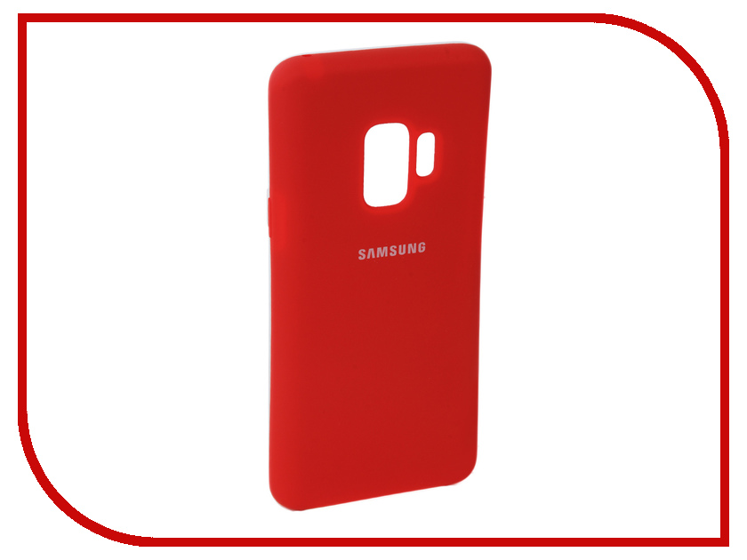 Аксессуар Чехол для Samsung Galaxy S9 Innovation Silicone Red 11910 аксессуар чехол для samsung galaxy a5 2017 innovation silicone black 12205
