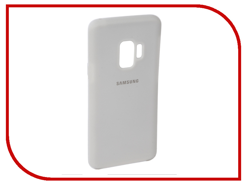 Аксессуар Чехол для Samsung Galaxy S9 Innovation Silicone White 11908 аксессуар чехол для samsung galaxy a5 2017 innovation silicone black 12205