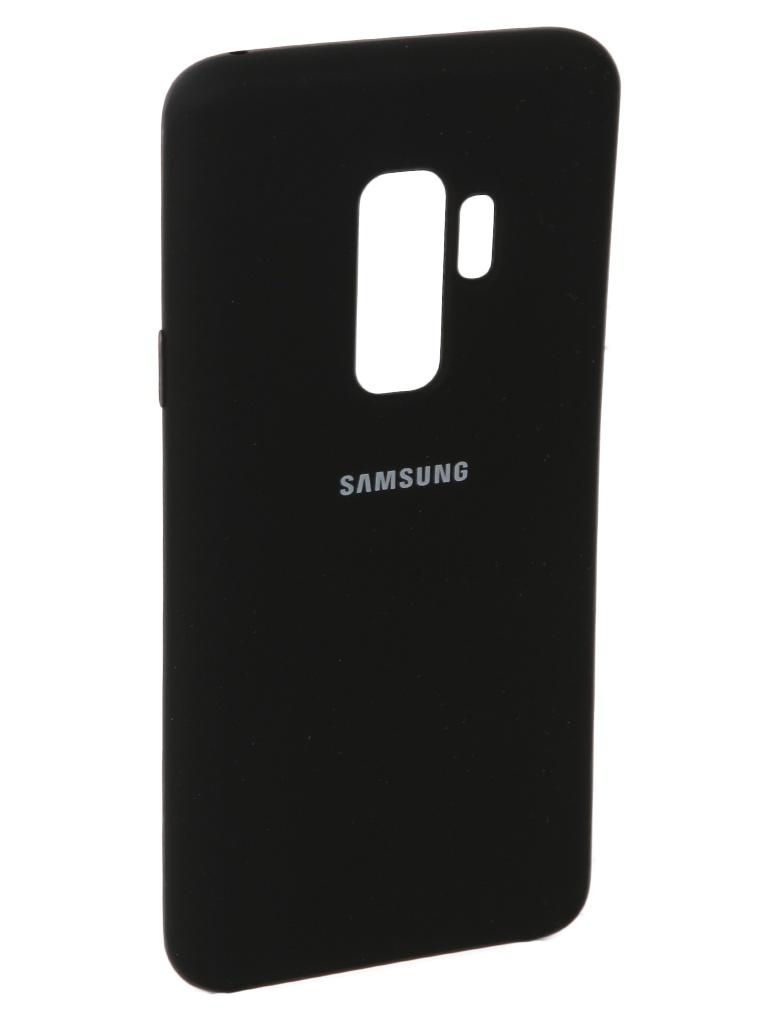 Аксессуар Чехол Innovation Siliconeдля Samsung Galaxy S9 Plus Black 11912