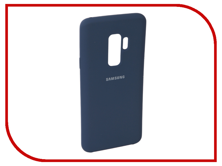 Аксессуар Чехол для Samsung Galaxy S9 Plus Innovation Silicone Blue 11914 аксессуар чехол для samsung galaxy a5 2017 innovation silicone green 10645