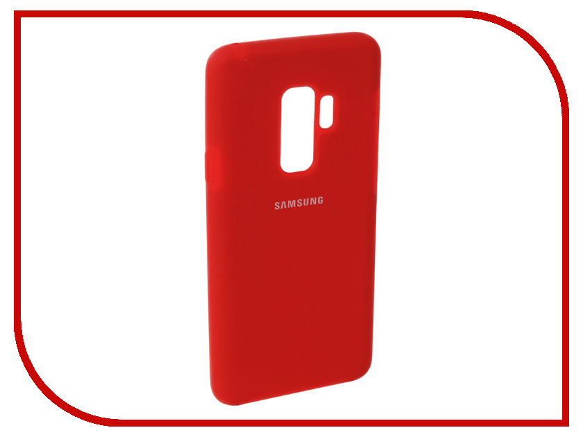 Аксессуар Чехол для Samsung Galaxy S9 Plus Innovation Silicone Red 11915 аксессуар чехол для samsung galaxy s9 plus innovation silicone red 11915