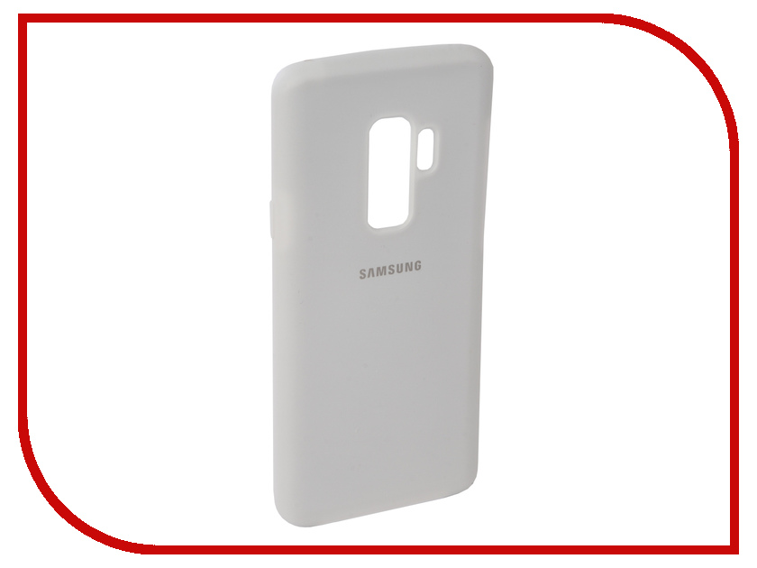 Аксессуар Чехол для Samsung Galaxy S9 Plus Innovation Silicone White 11913 protective silicone back case w stand for samsung galaxy note 3 translucent grey white
