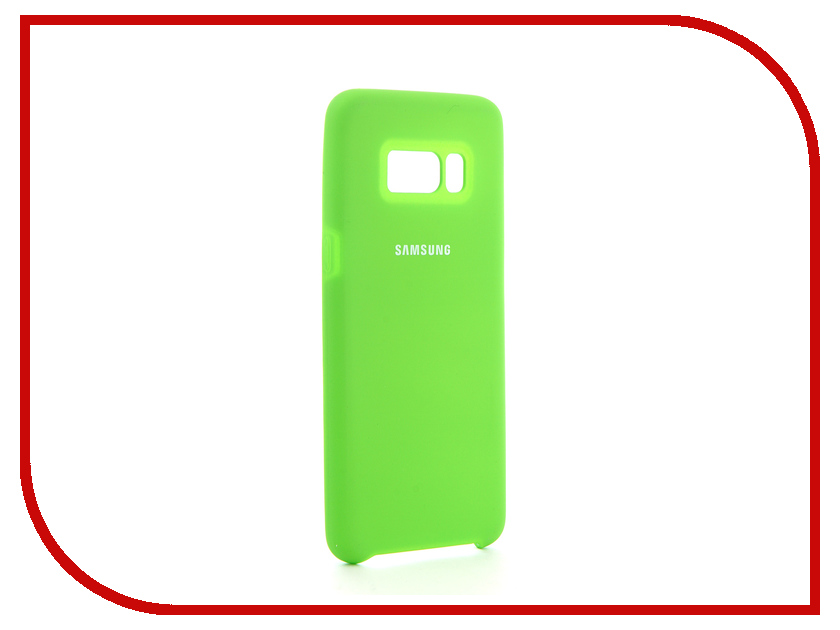 Аксессуар Чехол для Samsung Galaxy S8 Innovation Silicone Green 10700 аксессуар чехол для samsung galaxy a5 2017 innovation silicone coral 10646
