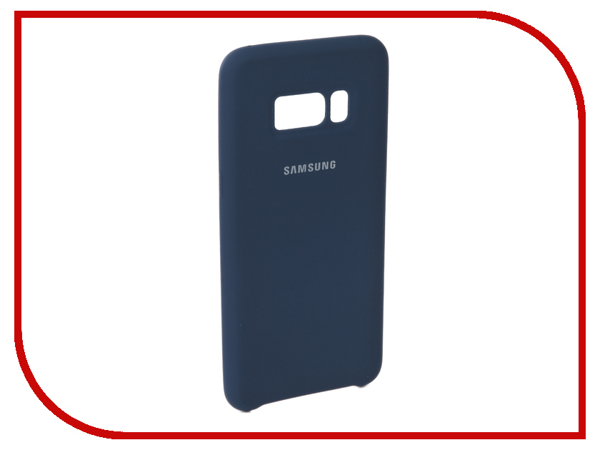 Аксессуар Чехол для Samsung Galaxy S8 Innovation Silicone Blue 10704 аксессуар чехол для samsung galaxy a5 2017 innovation silicone coral 10646