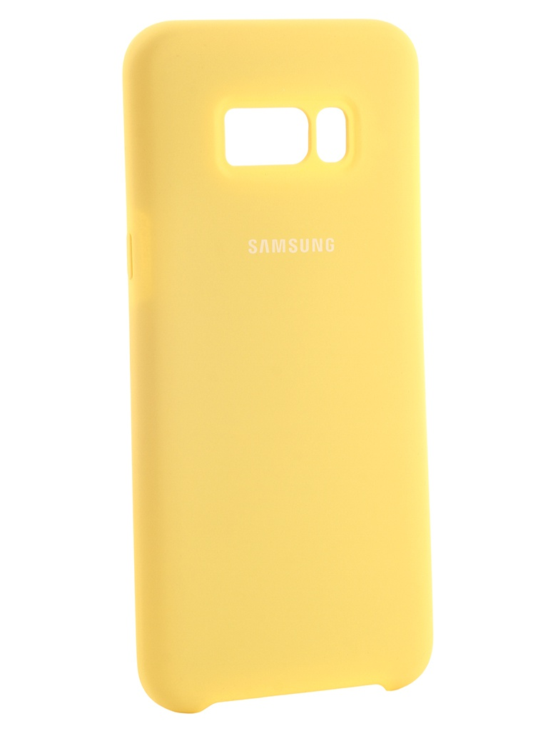 Аксессуар Чехол Innovation Silicone для Samsung Galaxy S8 Plus Yellow 10693