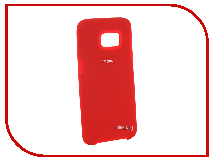 Аксессуар Чехол для Samsung Galaxy S7 Edge Innovation Silicone Red 10687 аксессуар чехол для samsung galaxy a5 2017 innovation silicone coral 10646