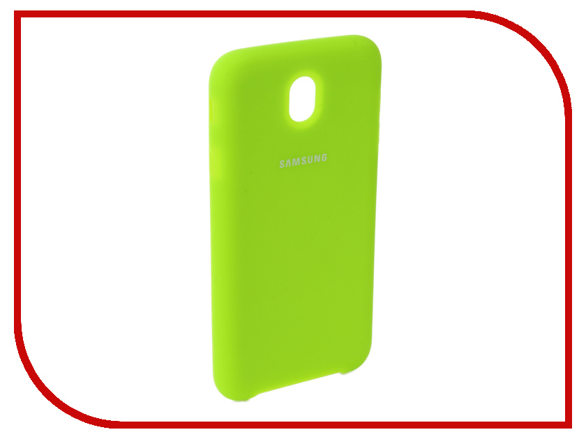 Аксессуар Чехол для Samsung Galaxy J7 2017 J730F Innovation Silicone Yellow 10676 аксессуар чехол книга для samsung galaxy j7 2017 j730f innovation book silicone red 12155