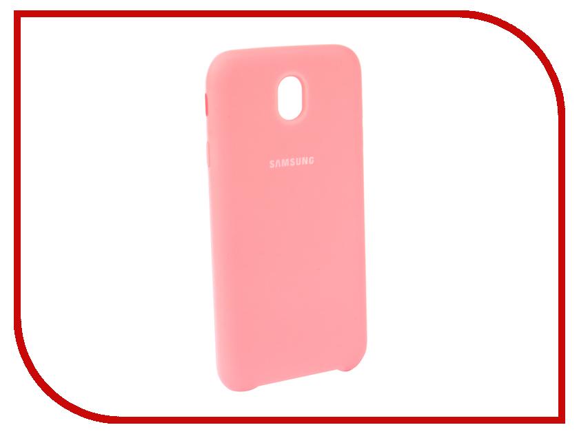 Аксессуар Чехол для Samsung Galaxy J7 2017 J730F Innovation Silicone Pink 10680 цена и фото