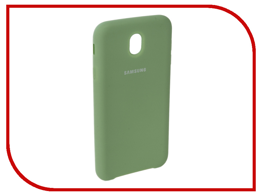 Аксессуар Чехол для Samsung Galaxy J7 2017 J730F Innovation Silicone Green 10677 аксессуар чехол для samsung galaxy a5 2017 innovation silicone yellow 10644