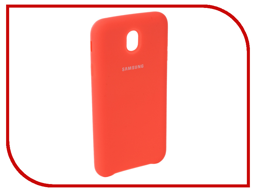 Аксессуар Чехол для Samsung Galaxy J7 2017 J730F Innovation Silicone Coral 10678 аксессуар чехол для samsung galaxy a5 2017 innovation silicone green 10645