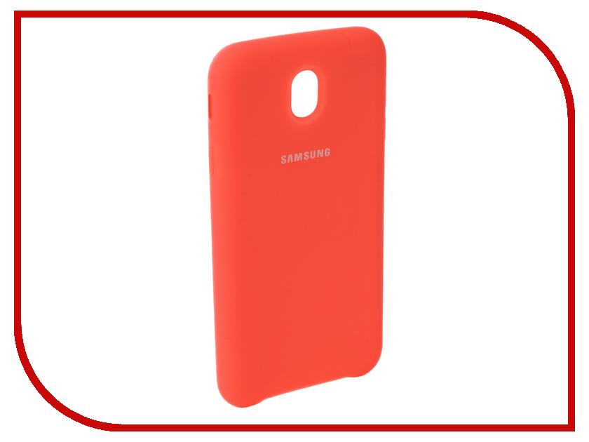 Аксессуар Чехол для Samsung Galaxy J7 2017 J730F Innovation Silicone Coral 10678 аксессуар чехол для samsung galaxy a3 2017 innovation silicone coral 10638