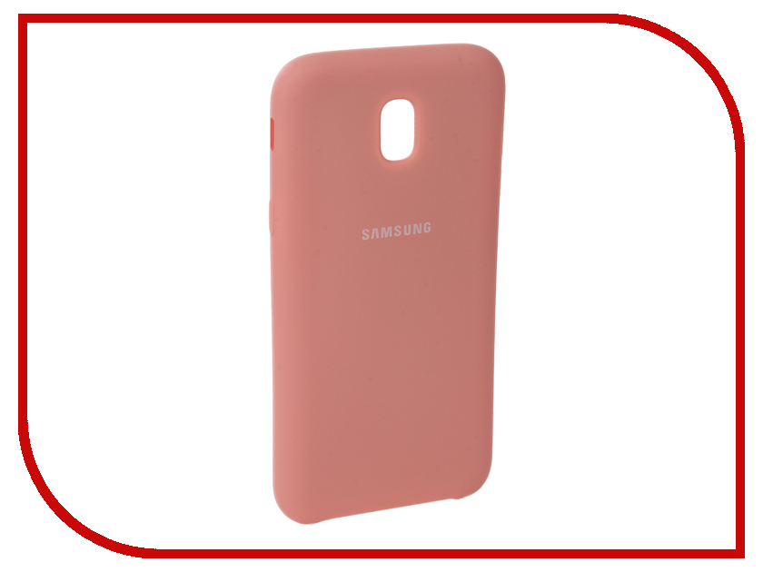 Аксессуар Чехол для Samsung Galaxy J5 2017 J530F Innovation Silicone Pink 10672 аксессуар чехол книга для samsung galaxy j5 2017 j530f innovation book silicone red 12153
