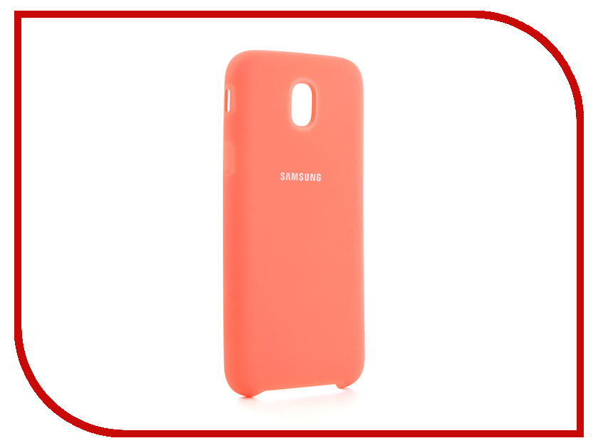 Аксессуар Чехол для Samsung Galaxy J5 2017 J530F Innovation Silicone Coral 10670 аксессуар чехол для samsung galaxy a5 2017 innovation silicone green 10645