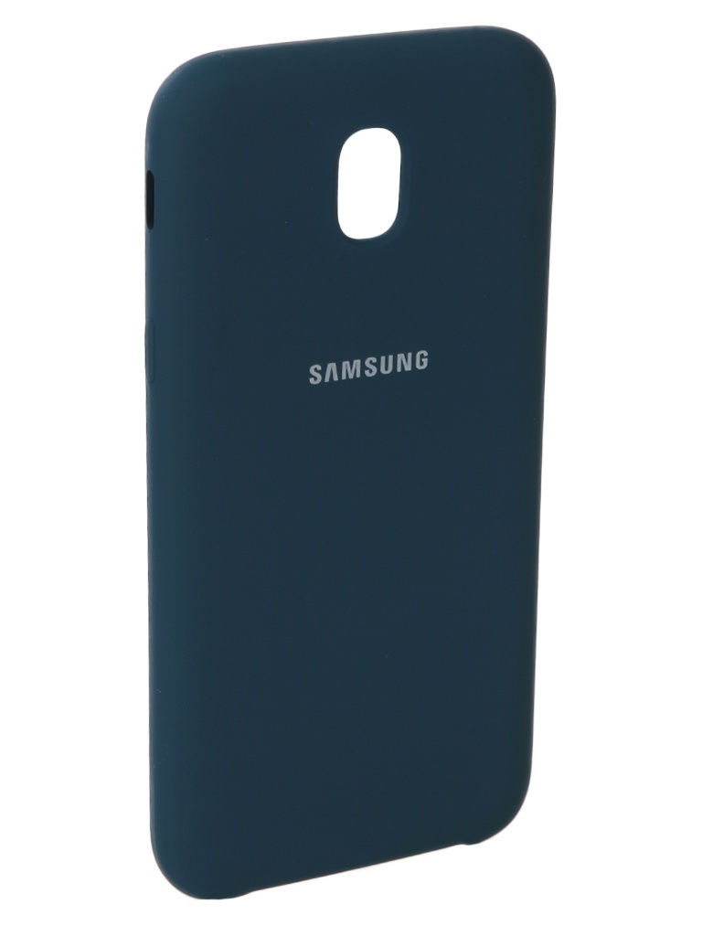 Аксессуар Чехол Innovation для Samsung Galaxy J5 2017 J530F Silicone Blue 10673 sterlingg 10673