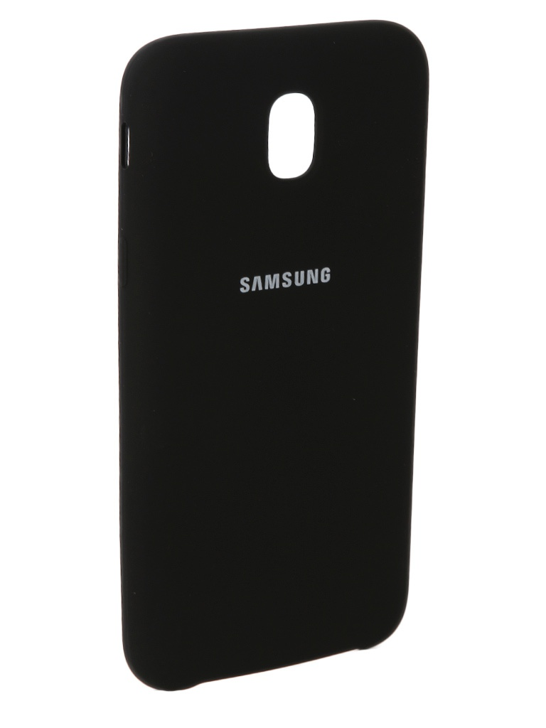 Аксессуар Чехол Innovation для Samsung Galaxy J5 2017 J530F Silicone Black 10674 цена и фото