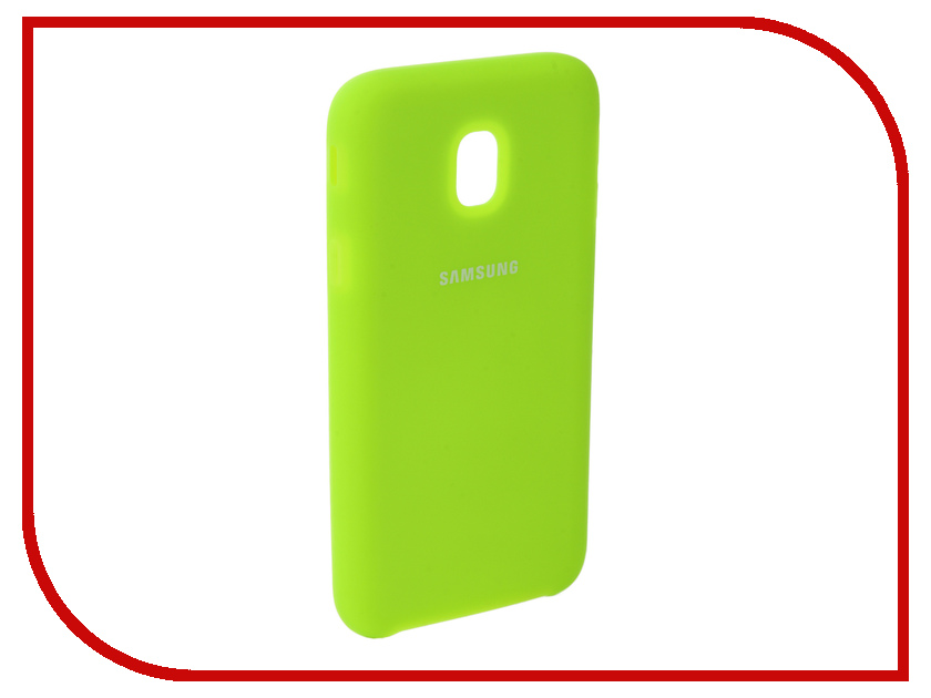 Аксессуар Чехол для Samsung Galaxy J3 2017 J330F Innovation Silicone Yellow 10660 аксессуар чехол для samsung galaxy a5 2017 innovation silicone blue 10643