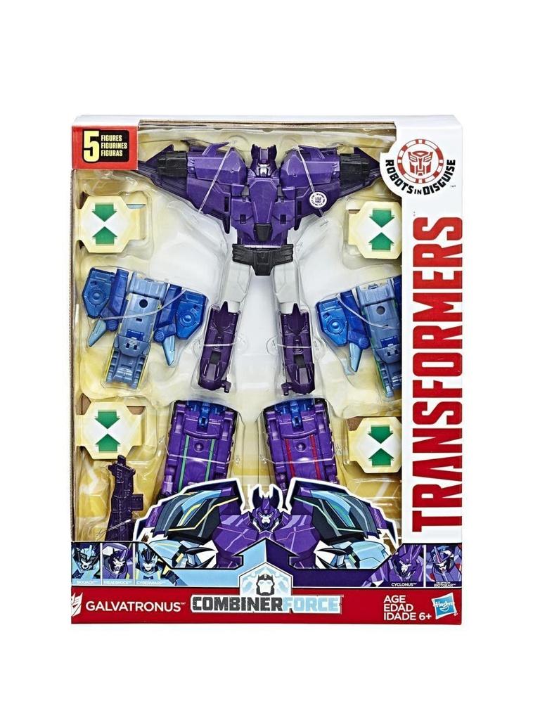 Игрушка Hasbro Transformers Роботы под прикрытием Тим-Комбайнер C0624 hasbro transformers c0653 трансформеры роботы под прикрытием гирхэд комбайнер станвинг и бамблби