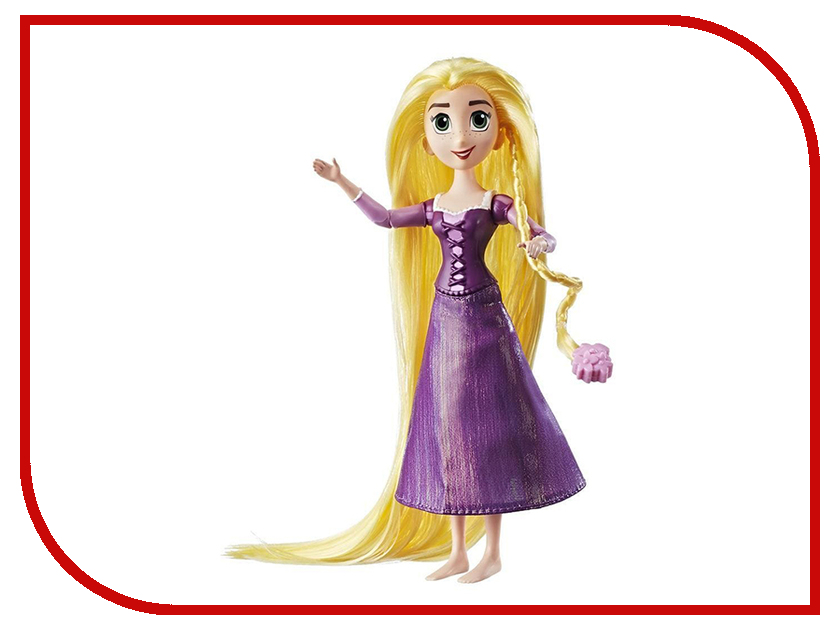 Игрушка Hasbro Disney Princess Рапунцель Кукла классическая C1747 hasbro hasbro кукла disney princess рапунцель