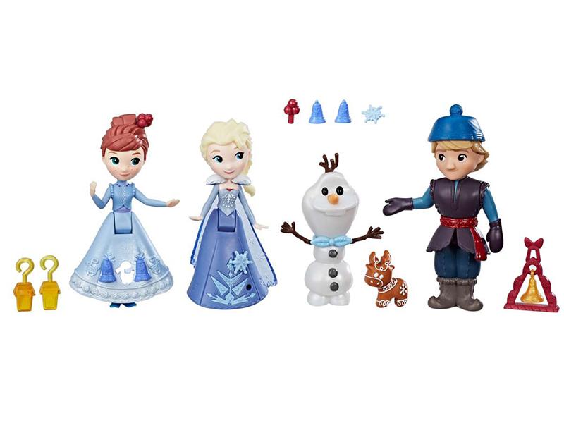 Игрушка Hasbro Disney Princess Холодное сердце Игровой набор Герои фильма C1921 игровой набор hasbro disney frozen холодное сердце b5191 летний пикник