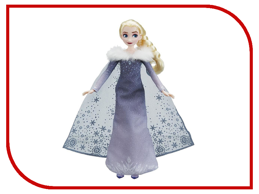 Игрушка Hasbro Disney Princess Холодное сердце Кукла поющая Эльза C2539 disney мини кукла холодное сердце эльза в голубом платье 7 5 см