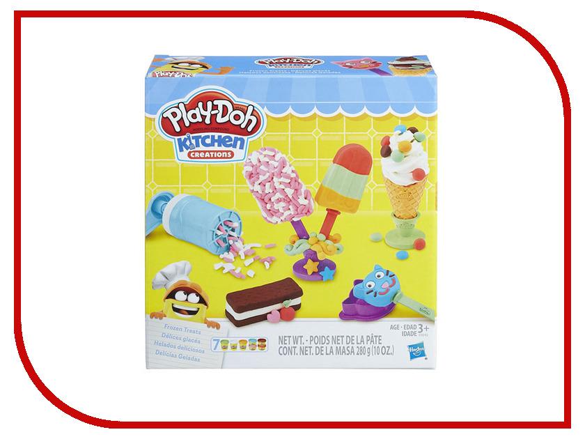 Игрушка Hasbro Play-Doh Создай любимое мороженое E0042 hasbro игровой набор play doh создай любимое мороженое