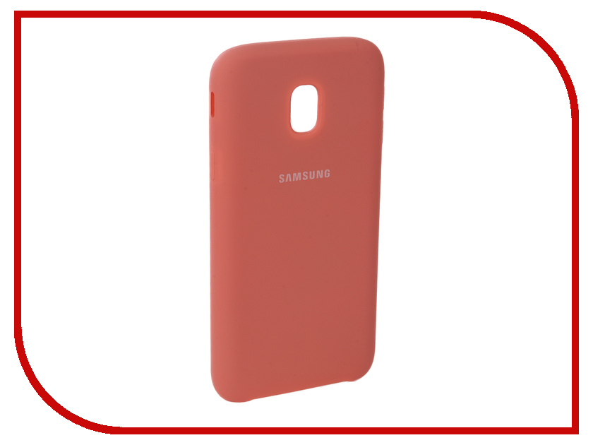 Аксессуар Чехол для Samsung Galaxy J3 2017 J330F Innovation Silicone Pink 10664 аксессуар чехол для samsung galaxy a5 2017 innovation silicone green 10645