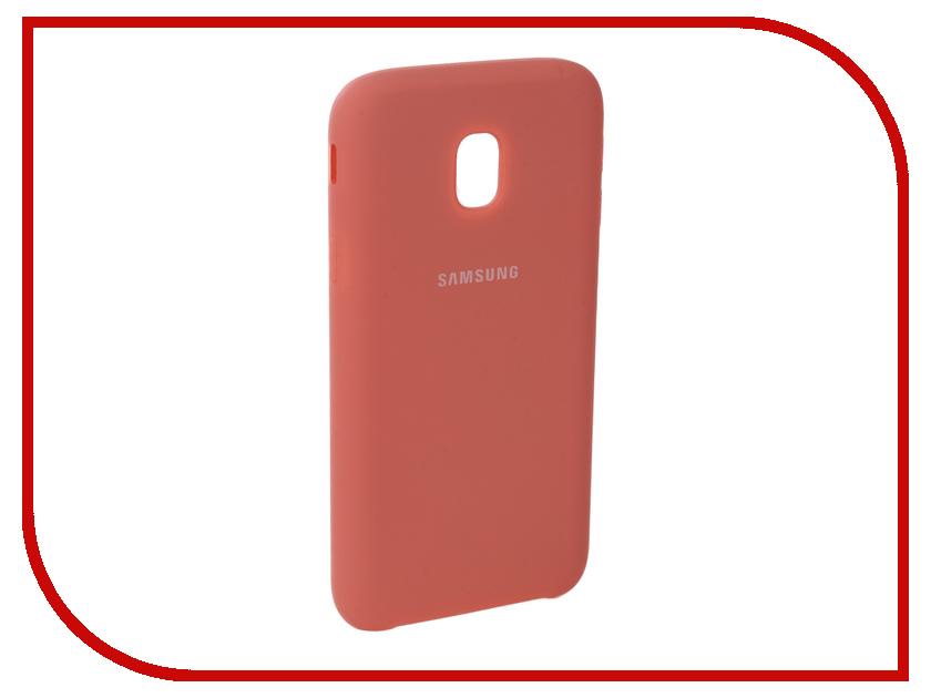 Аксессуар Чехол для Samsung Galaxy J3 2017 J330F Innovation Silicone Pink 10664 аксессуар чехол для samsung galaxy j3 2017 j330f innovation book silicone red 12151