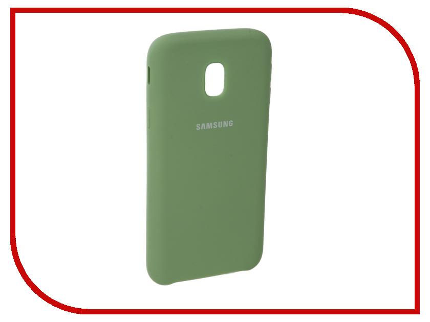 Аксессуар Чехол для Samsung Galaxy J3 2017 J330F Innovation Silicone Green 10661 аксессуар чехол для samsung galaxy j3 2017 j330f innovation book silicone red 12151
