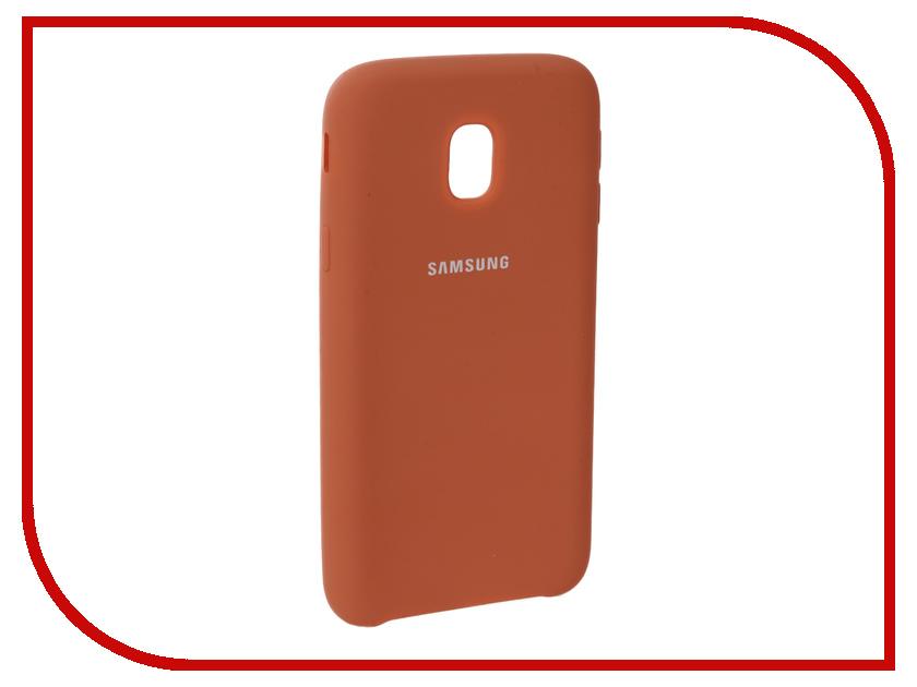 Аксессуар Чехол для Samsung Galaxy J3 2017 J330F Innovation Silicone Coral 10662 аксессуар чехол для samsung galaxy j3 2017 j330f innovation book silicone red 12151