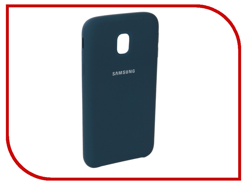 Аксессуар Чехол для Samsung Galaxy J3 2017 J330F Innovation Silicone Blue 10659 аксессуар чехол для samsung galaxy a5 2017 innovation silicone green 10645