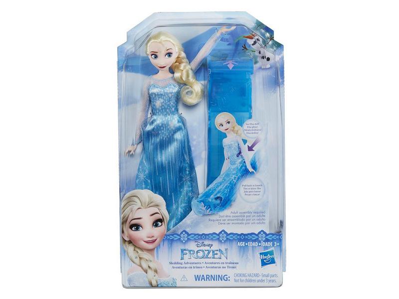 Игрушка Hasbro Disney Princess Холодное сердце Кукла Эльза и санки E0086