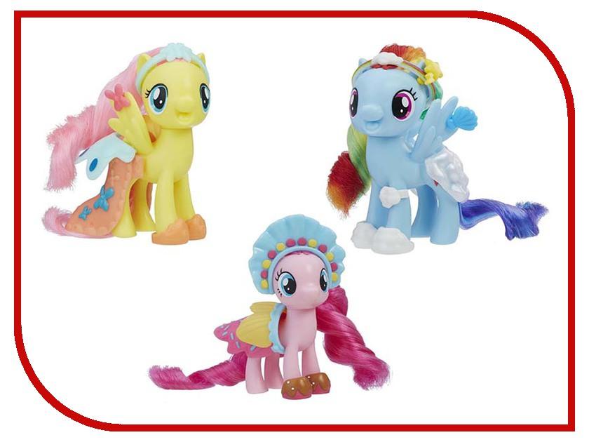 Игрушка Hasbro My Little Pony Movie Пони с волшебными нарядами E0189 hasbro my little pony b5361 пони с волшебными картинками флаттершайн