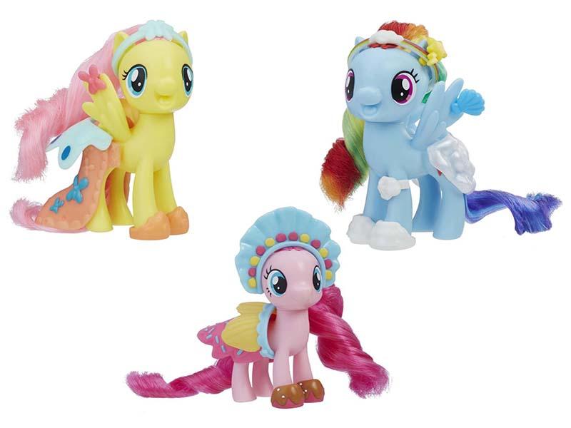 Игрушка Hasbro My Little Pony Movie Пони с волшебными нарядами E0189