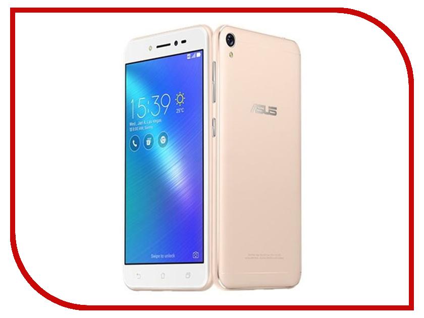 Сотовый телефон ASUS Zenfone Live L1 ZA550KL 2/16GB Gold сотовый телефон asus zenfone live l1 za550kl 16gb black
