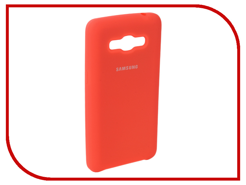 Аксессуар Чехол для Samsung Galaxy J2 Prime G532F 2016 Innovation Silicone Coral 10654 аксессуар чехол для samsung galaxy a5 2017 innovation silicone yellow 10644