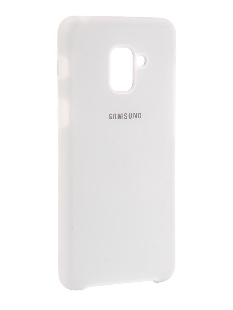 Аксессуар Чехол Innovation для Samsung Galaxy A8 Plus 2018 Silicone White 11923 все цены