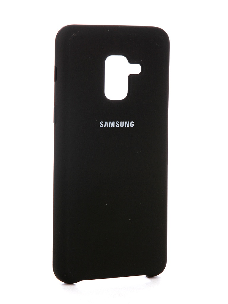 Аксессуар Чехол Innovation для Samsung Galaxy A8 2018 Silicone Black 11917 аксессуар чехол для samsung galaxy a8 plus 2018 innovation book black 11971