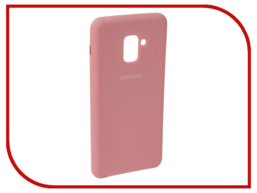 Аксессуар Чехол для Samsung Galaxy A8 2018 Innovation Silicone Pink 11921 аксессуар чехол для samsung galaxy a5 2017 innovation silicone yellow 10644