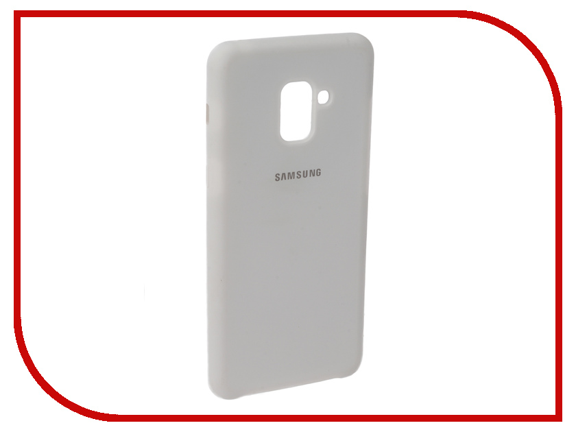 Аксессуар Чехол для Samsung Galaxy A8 2018 Innovation Silicone White 11918 аксессуар чехол для samsung galaxy a5 2017 innovation silicone yellow 10644