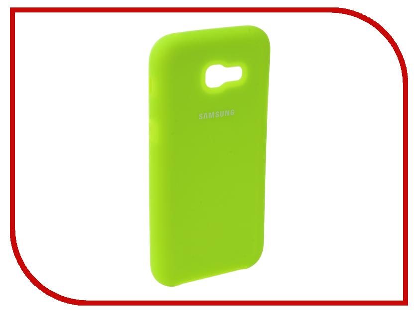 Аксессуар Чехол для Samsung Galaxy A5 2017 Innovation Silicone Yellow 10644 skinbox silicone chrome border 4people чехол для samsung galaxy a5 2016 dark silver