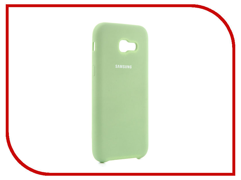 Аксессуар Чехол для Samsung Galaxy A5 2017 Innovation Silicone Green 10645 аксессуар чехол для samsung galaxy a5 2017 innovation book silicone red 12147