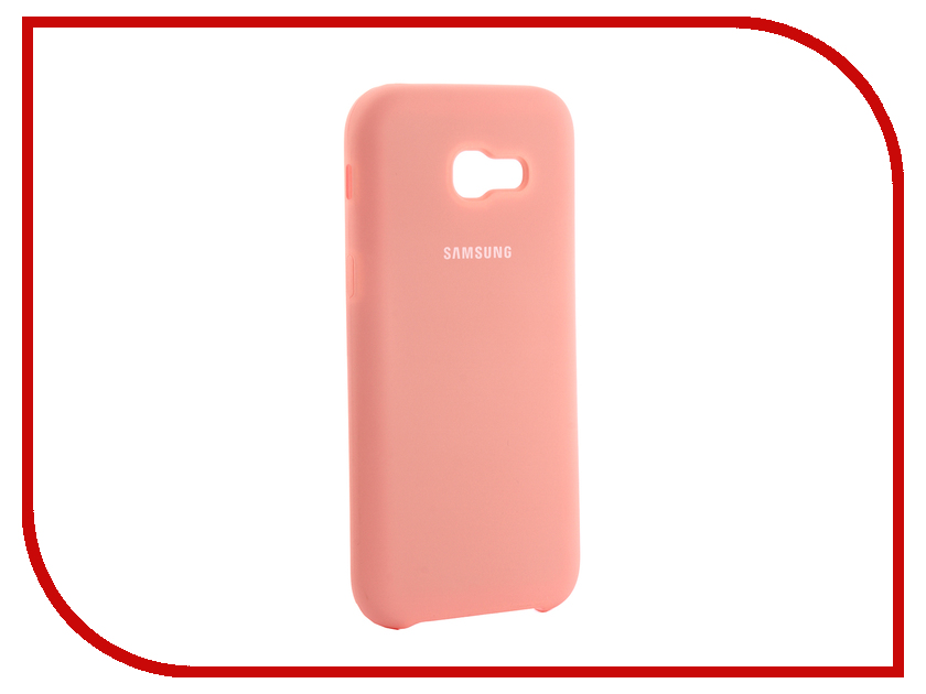 Аксессуар Чехол для Samsung Galaxy A5 2017 Innovation Silicone Coral 10646 аксессуар чехол для samsung galaxy a3 2017 innovation silicone coral 10638