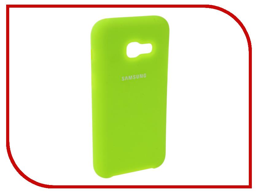 Аксессуар Чехол для Samsung Galaxy A3 2017 Innovation Silicone Yellow 10636 аксессуар чехол для samsung galaxy a3 2017 innovation silicone yellow 10636