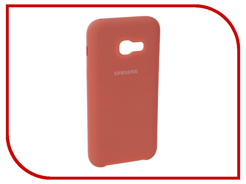 Аксессуар Чехол для Samsung Galaxy A3 2017 Innovation Silicone Pink 10640 аксессуар чехол для samsung galaxy a3 2017 innovation silicone yellow 10636