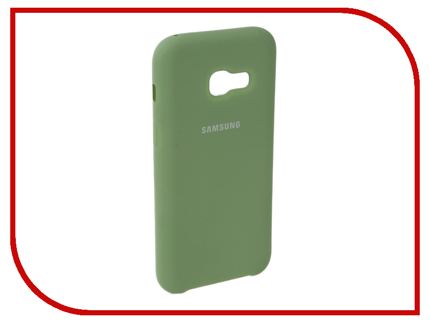 Аксессуар Чехол для Samsung Galaxy A3 2017 Innovation Silicone Green 10637 аксессуар чехол для samsung galaxy a3 2017 innovation silicone yellow 10636