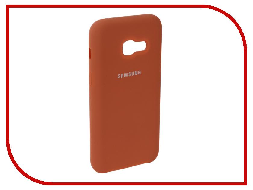 Аксессуар Чехол для Samsung Galaxy A3 2017 Innovation Silicone Coral 10638 аксессуар чехол для samsung galaxy a3 2017 innovation silicone coral 10638